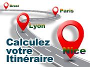 Calculez votre Itinéraire